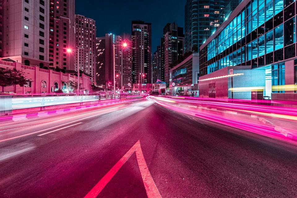 Ảnh phơi sáng biến Dubai thành một thành phố không ngủ về đêm - Ảnh 10.