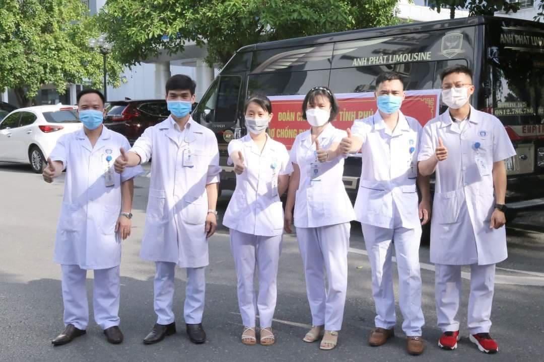 Phú Thọ: Chọn 6 bác sỹ giỏi trong 200 đơn đăng ký hỗ trợ Bắc Ninh chống dịch Covid-19 - Ảnh 1.