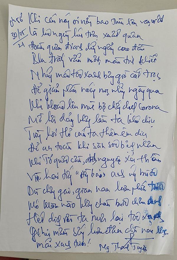 """Bài thơ viết vội: """"Hết dịch rồi ta nuôi lại tóc xanh"""" - Ảnh 2."""