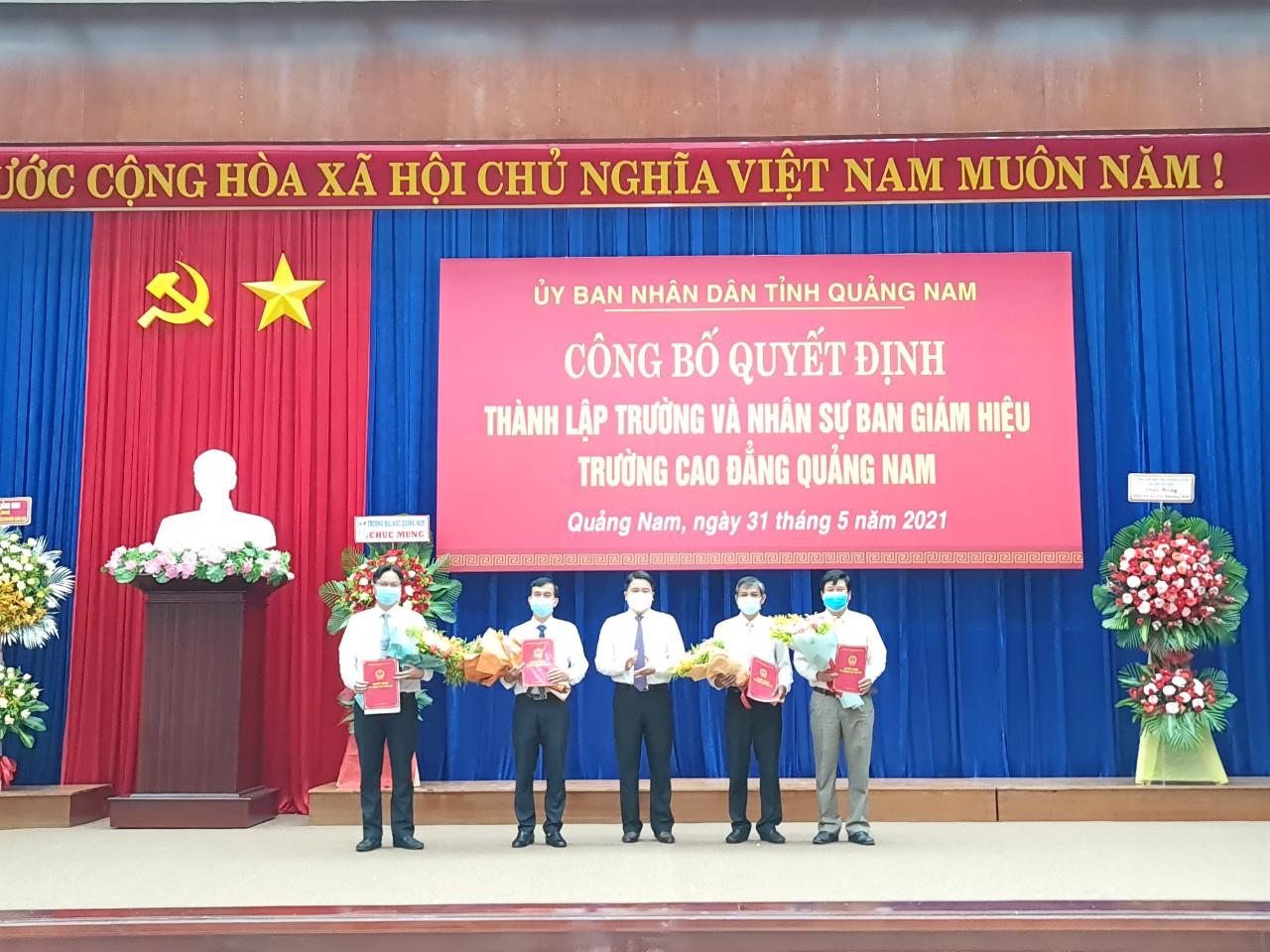 Chính thức thành lập Trường Cao đẳng Quảng Nam - Ảnh 3.