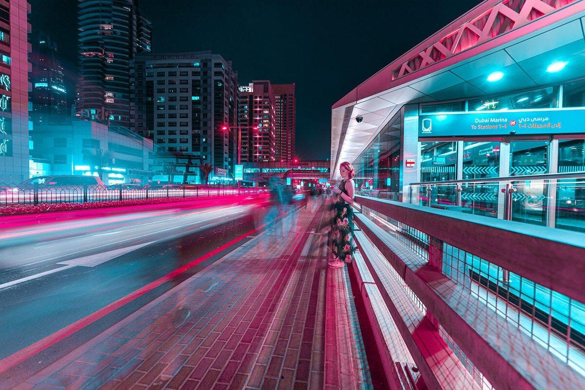 Ảnh phơi sáng biến Dubai thành một thành phố không ngủ về đêm - Ảnh 8.