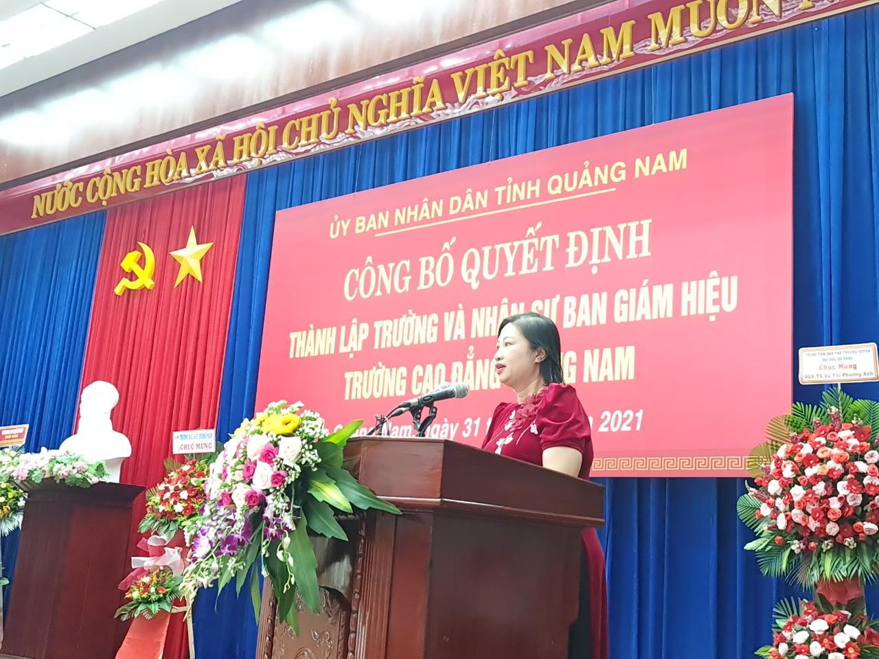 Chính thức thành lập Trường Cao đẳng Quảng Nam - Ảnh 7.