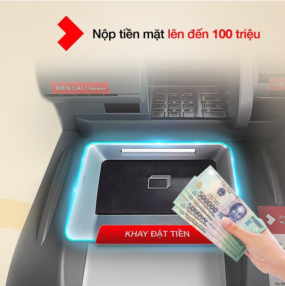 Techcombank thêm tiện ích trên hệ thống ATM thế hệ mới - Ảnh 1.