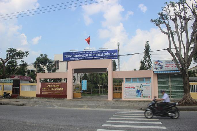 Chính thức thành lập Trường Cao đẳng Quảng Nam - Ảnh 2.