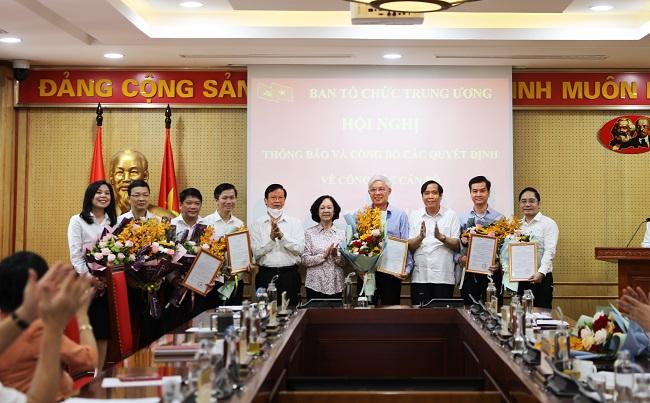 Điều động Trợ lý của Ủy viên Bộ Chính trị Trương Thị Mai sang Ban Tổ chức Trung ương - Ảnh 1.