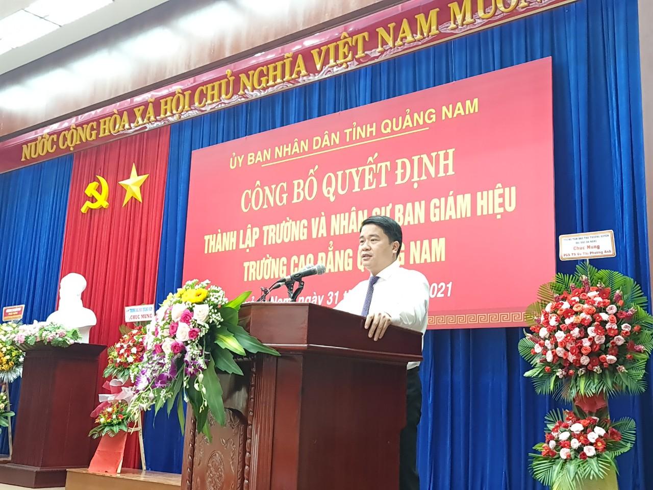 Chính thức thành lập Trường Cao đẳng Quảng Nam - Ảnh 5.