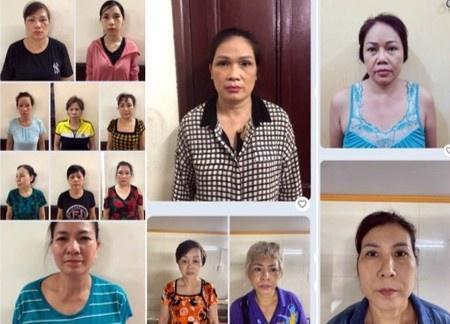 Bắt 12 phụ nữ trong đường dây tổ chức cờ bạc tiền tỷ/ngày - Ảnh 1.