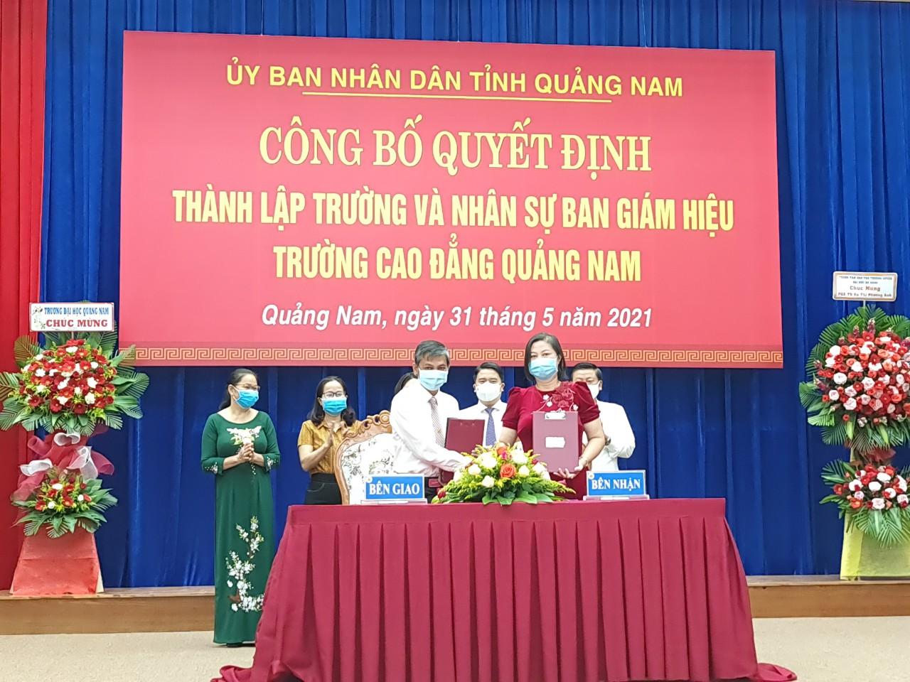 Chính thức thành lập Trường Cao đẳng Quảng Nam - Ảnh 6.