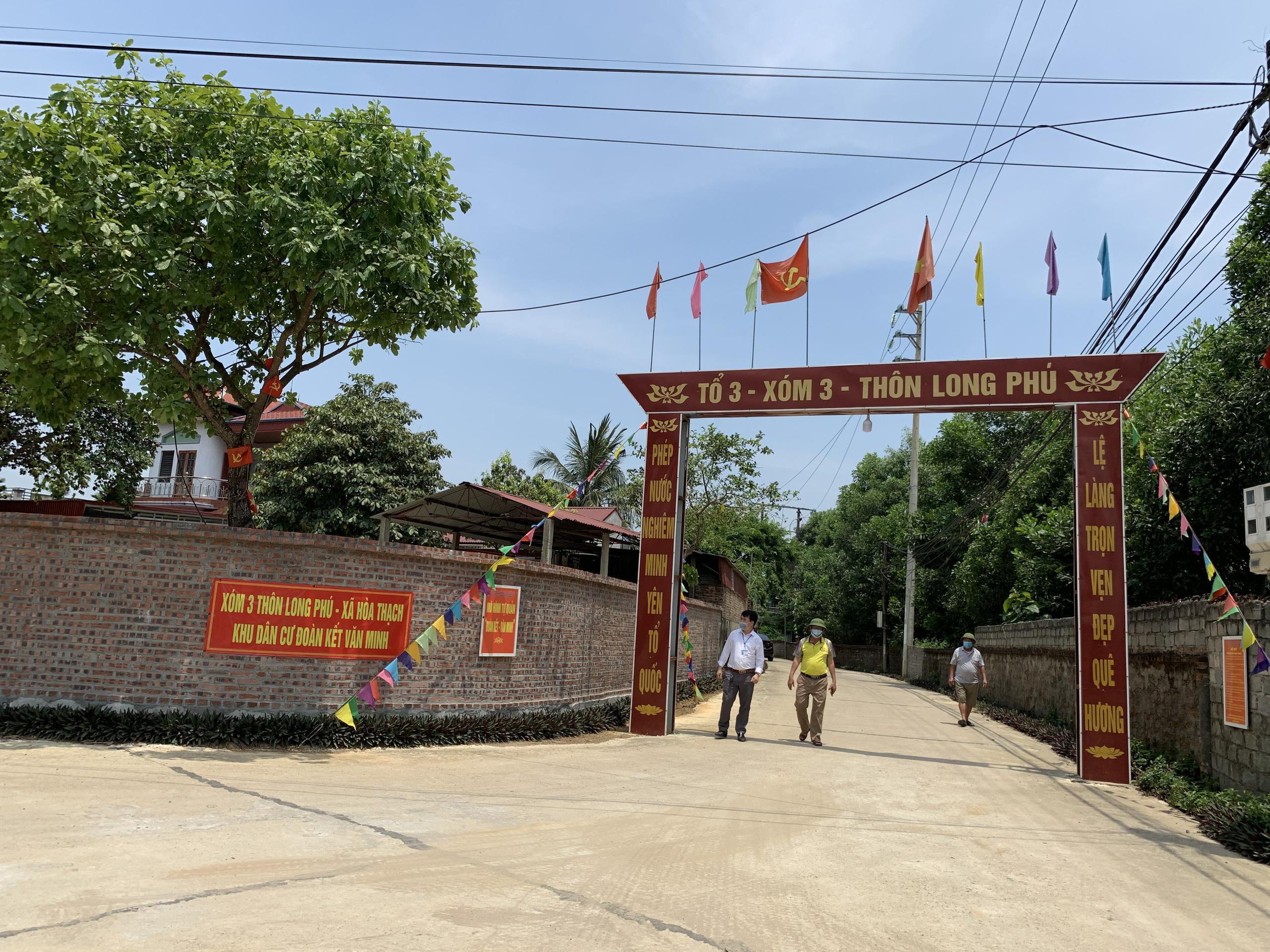Nhân dân hồ hởi hiến đất làm đường tại Hòa Thạch (Quốc Oai) - Ảnh 3.