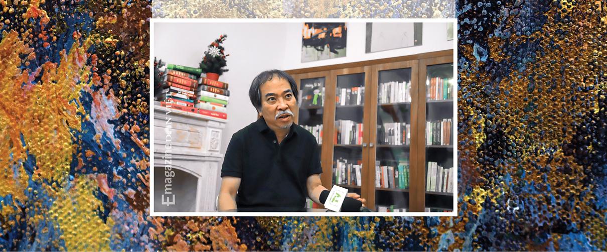 Nhà văn Nguyễn Quang Thiều: Sự đập cánh của đôi cánh tự do khác đôi chân của kẻ tuỳ tiện - Ảnh 2.