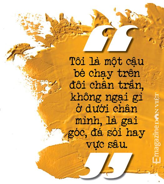 Nhà văn Nguyễn Quang Thiều: Sự đập cánh của đôi cánh tự do khác đôi chân của kẻ tuỳ tiện - Ảnh 4.