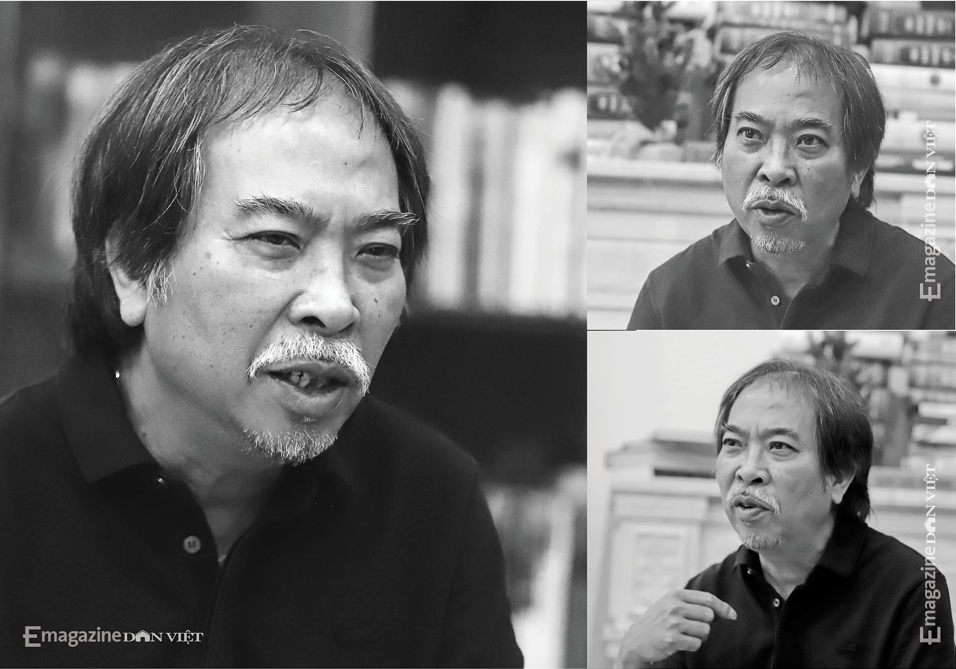 Nhà văn Nguyễn Quang Thiều: Sự đập cánh của đôi cánh tự do khác đôi chân của kẻ tuỳ tiện - Ảnh 12.