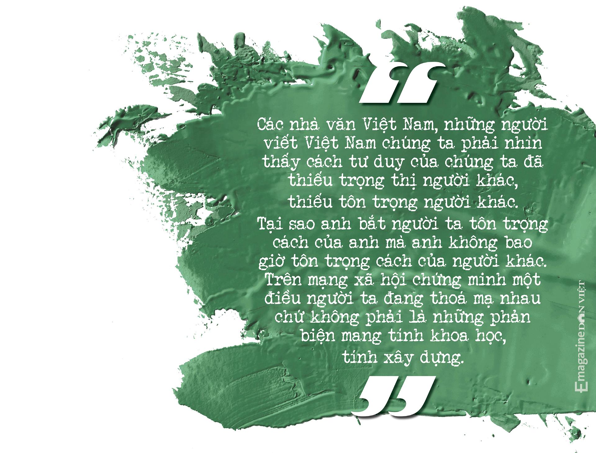 Nhà văn Nguyễn Quang Thiều: Sự đập cánh của đôi cánh tự do khác đôi chân của kẻ tuỳ tiện - Ảnh 16.