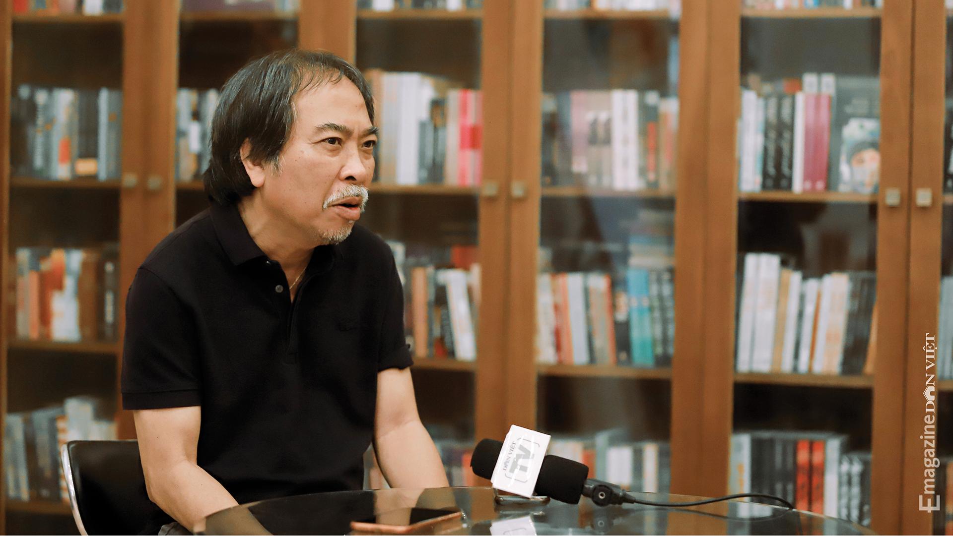 Nhà văn Nguyễn Quang Thiều: Sự đập cánh của đôi cánh tự do khác đôi chân của kẻ tuỳ tiện - Ảnh 17.