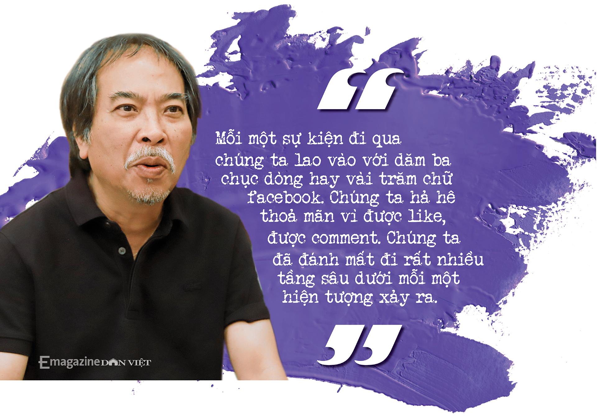 Nhà văn Nguyễn Quang Thiều: Sự đập cánh của đôi cánh tự do khác đôi chân của kẻ tuỳ tiện - Ảnh 19.