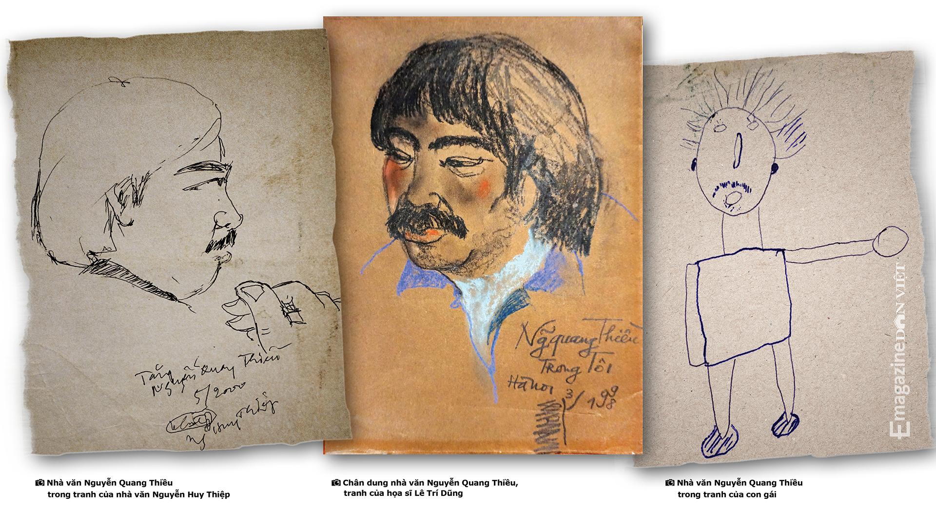 Nhà văn Nguyễn Quang Thiều: Sự đập cánh của đôi cánh tự do khác đôi chân của kẻ tuỳ tiện - Ảnh 24.