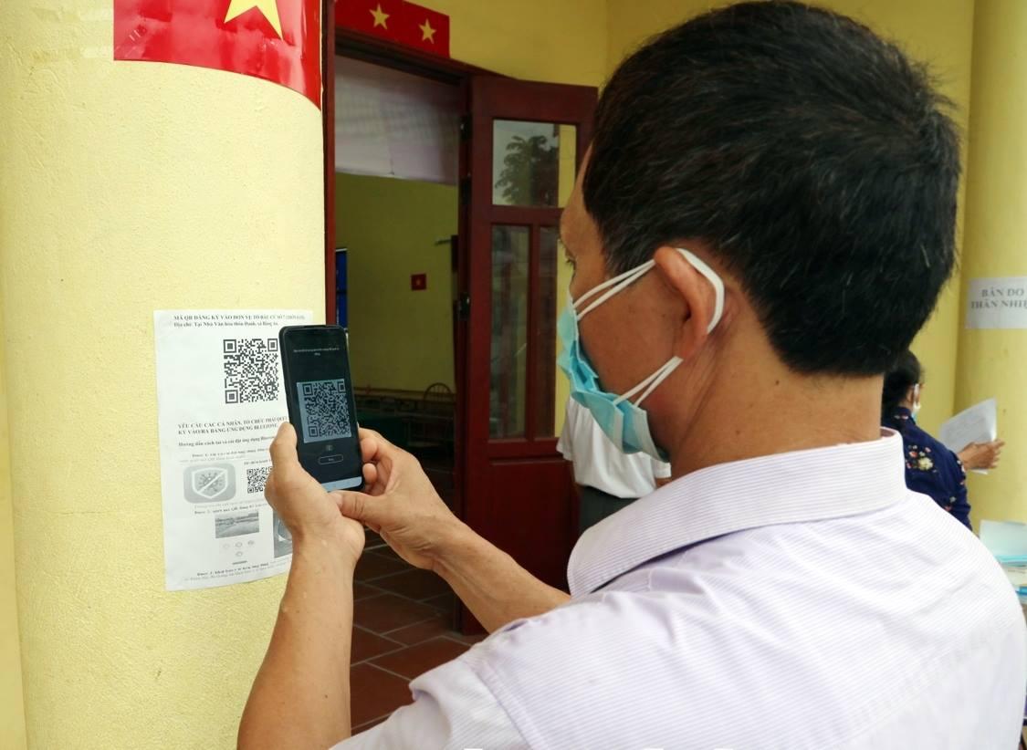 Ứng dụng công nghệ vào việc truy vết Covid-19 tại Bắc Ninh - Ảnh 1.