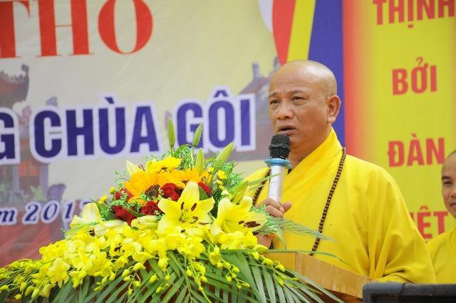Thượng tọa 5 lần liên tiếp trúng cử đại biểu HĐND tỉnh ở Nam Định - Ảnh 1.