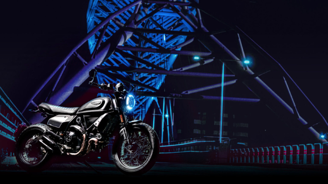 Ducati Scrambler 800 Nightshift 2021