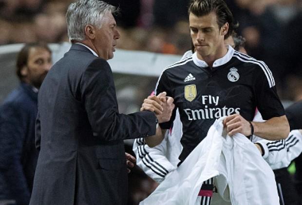 Bale và Ancelotti hồi còn ở Real Madrid.