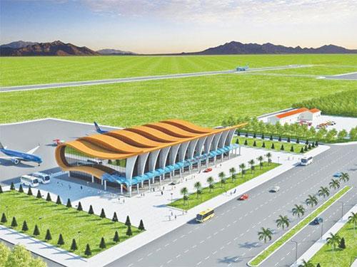 Sân bay Phan Thiết sẽ được điều chỉnh những hàng mục gì? - Ảnh 1.