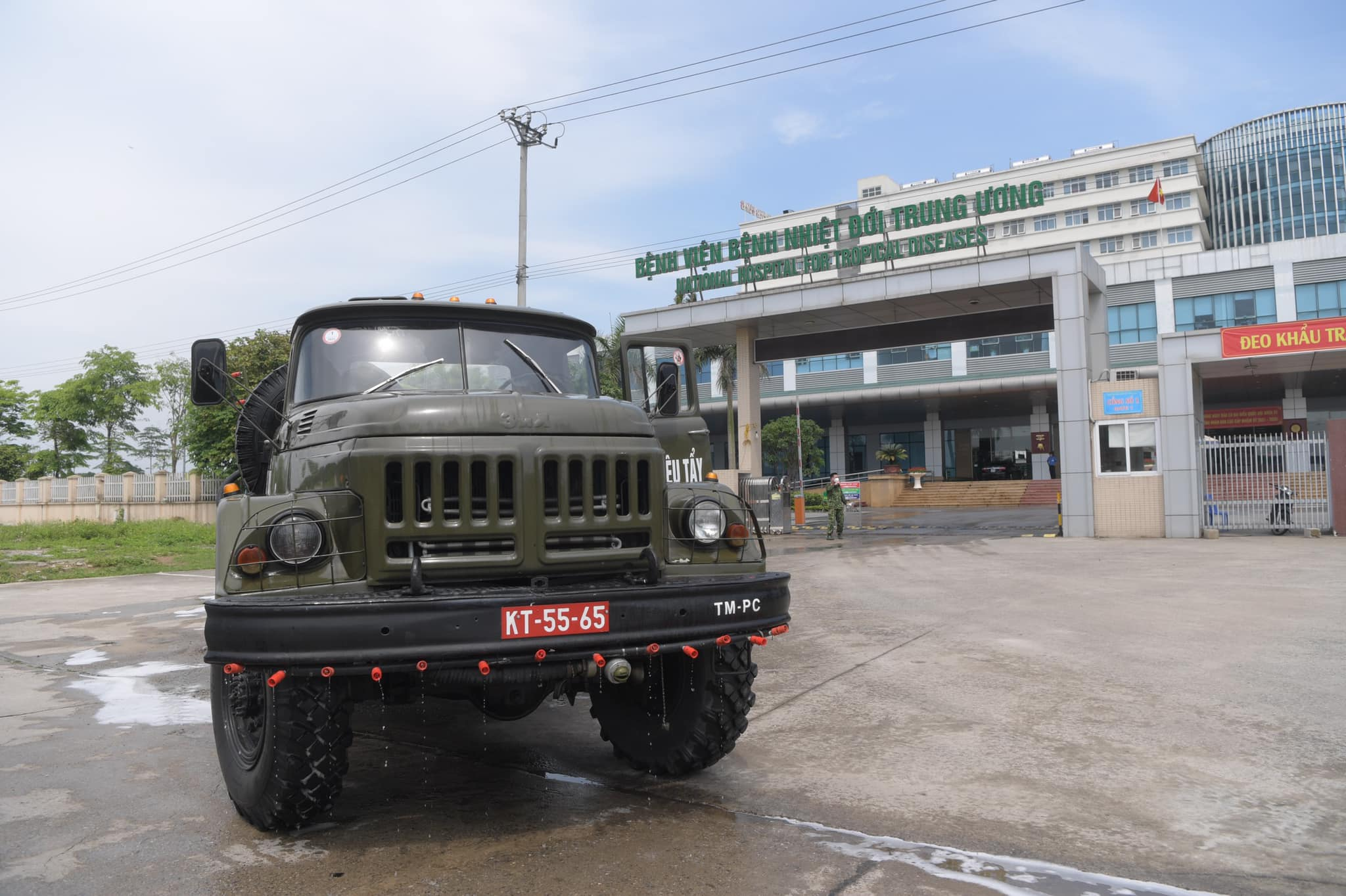 Đã có kết quả 22 trường hợp F1 tiếp xúc với trưởng khoa Bệnh viện Quân y 105 nhiễm Covid-19 - Ảnh 1.