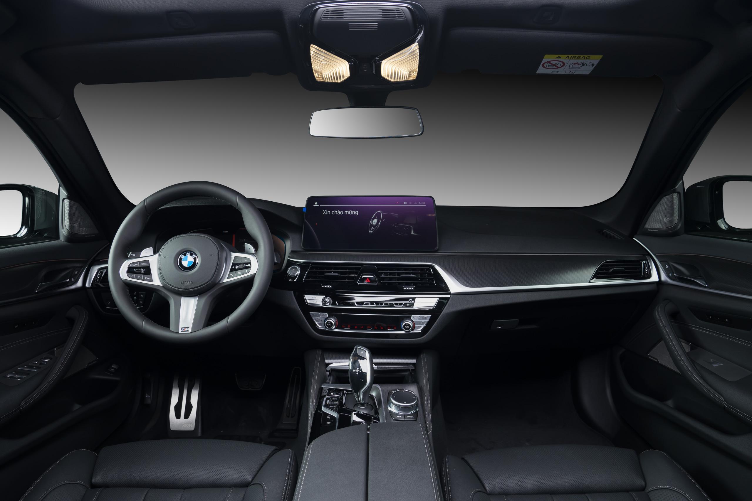 Bộ ba phiên bản BMW 5 series tại Việt Nam - Ảnh 2.