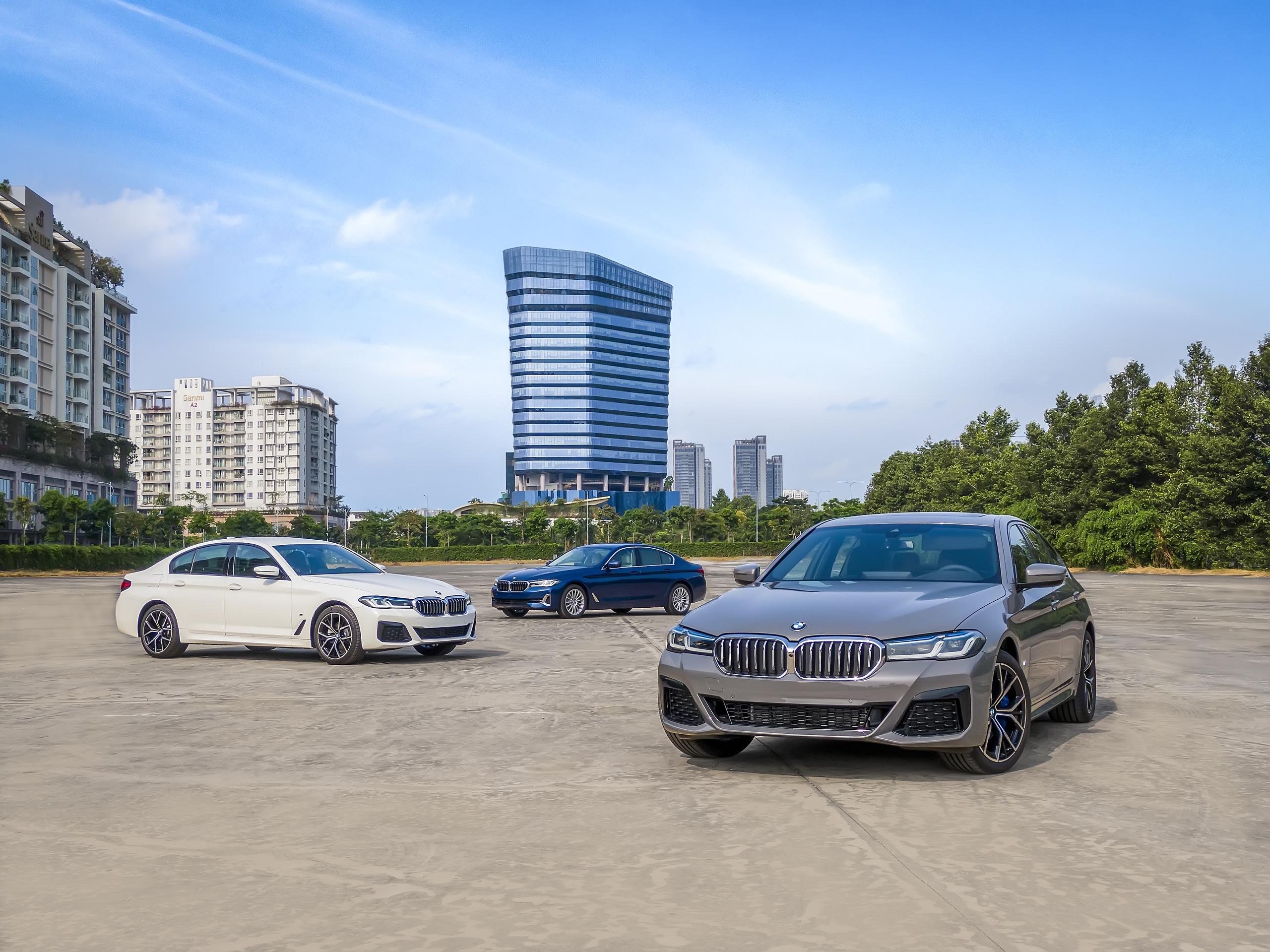Bộ ba phiên bản BMW 5 series tại Việt Nam - Ảnh 1.