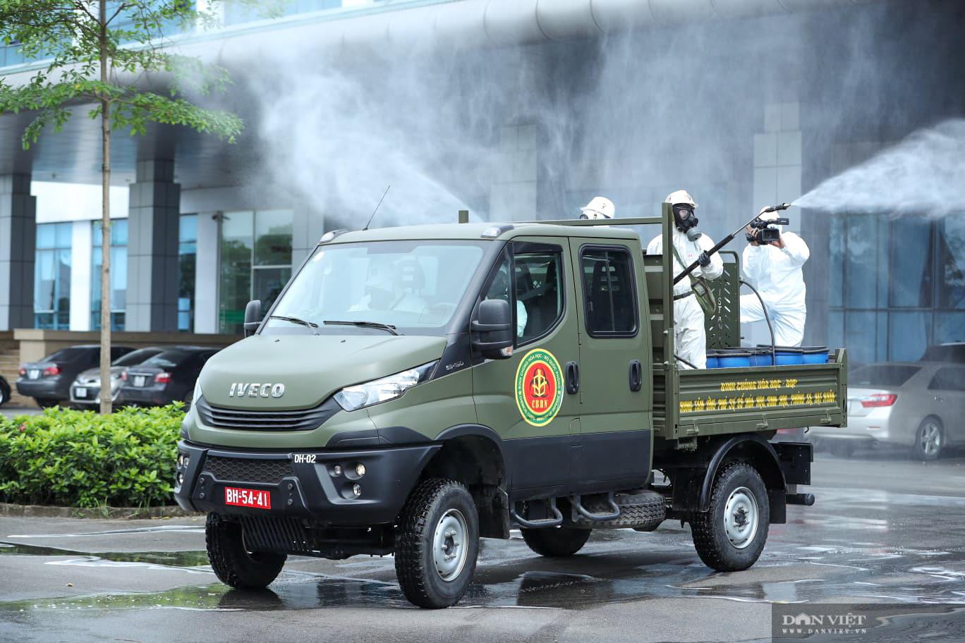 Hà Nội: khử khuẩn toàn bộ Bệnh viện Bệnh Nhiệt đới Trung ương cơ sở Đông Anh - Ảnh 4.