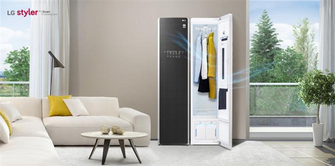 Ra mắt Tủ chăm sóc quần áo thông minh LG Styler model S5MB - Ảnh 1.