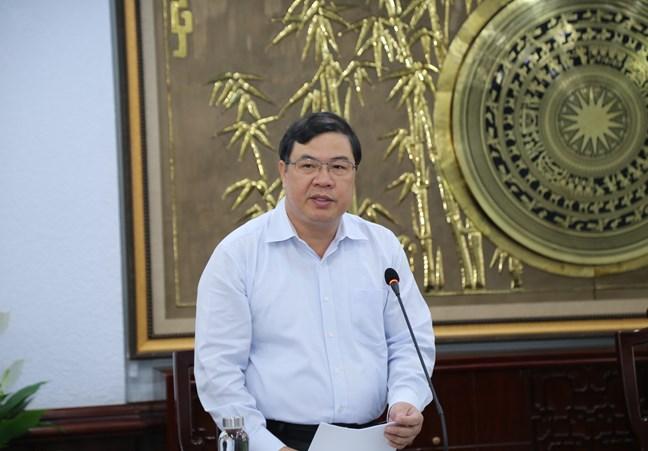 Bộ Chính trị điều động Phó Ban Nội chính Trung ương làm Bí thư Tỉnh ủy Nam Định - Ảnh 1.