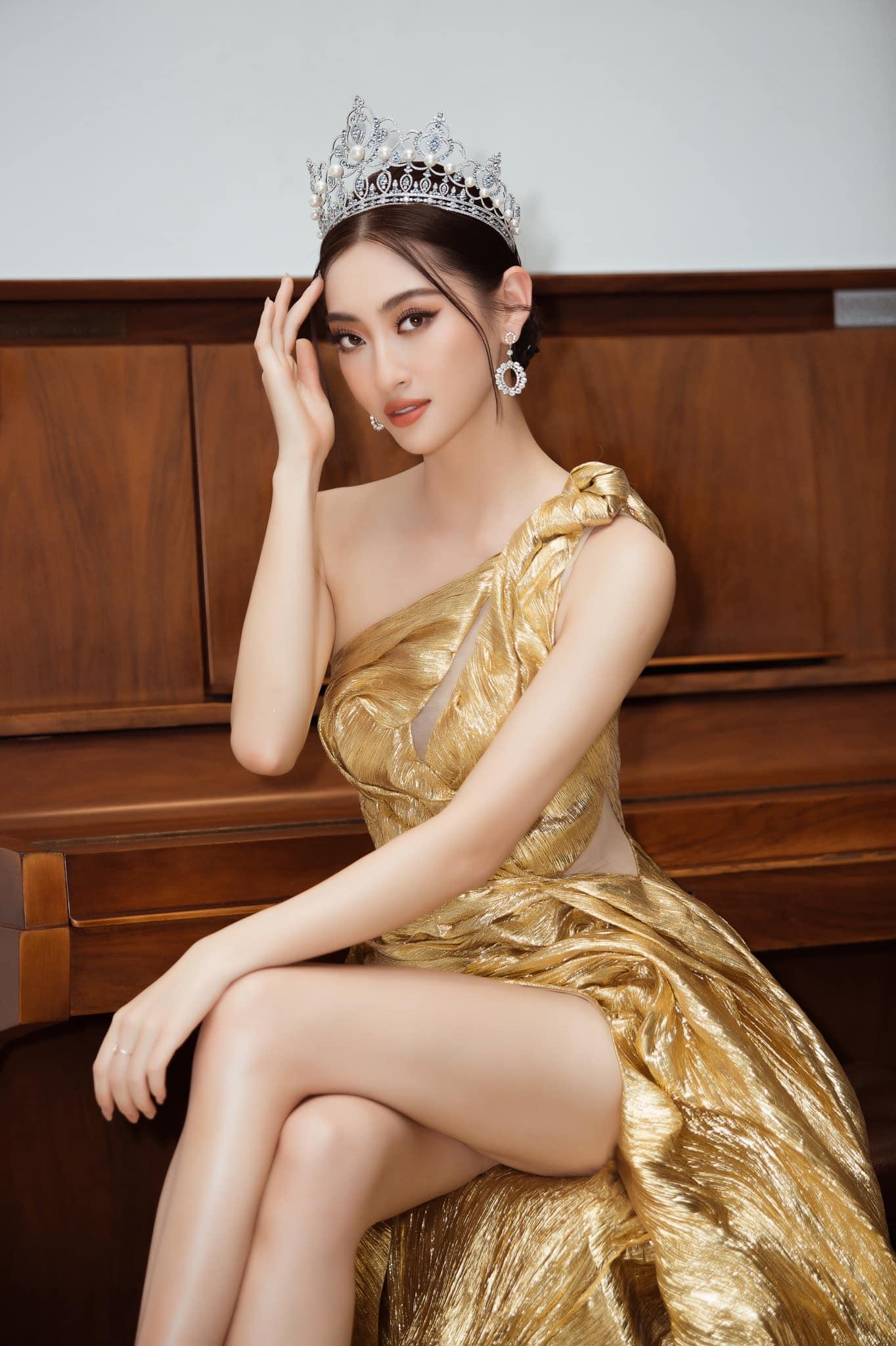 """Hoa hậu Đỗ Mỹ Linh, Lương Thùy Linh bất ngờ """"tái xuất"""" trong clip Miss World 2021, Đỗ Thị Hà gây chú ý - Ảnh 3."""