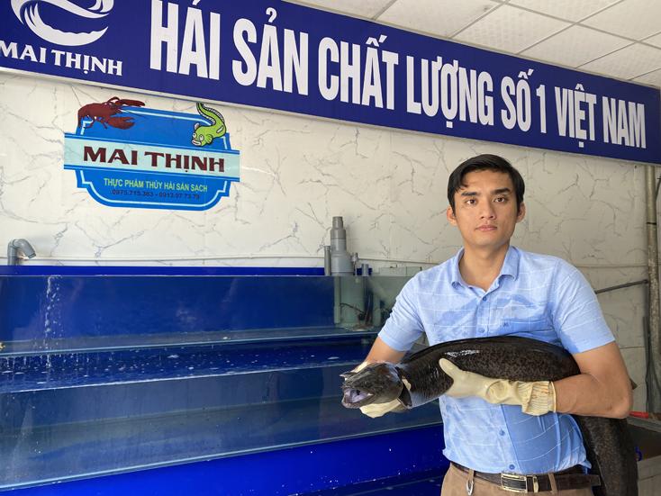 Làm giàu từ nuôi cá chình - Ảnh 1.