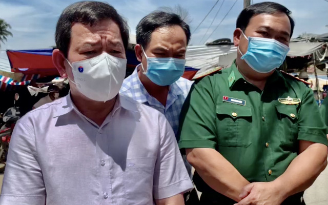 Quảng Ngãi: Chủ tịch tỉnh kiểm tra, chỉ đạo khẩn tại nơi bệnh nhân mắc Covid-19 sinh sống