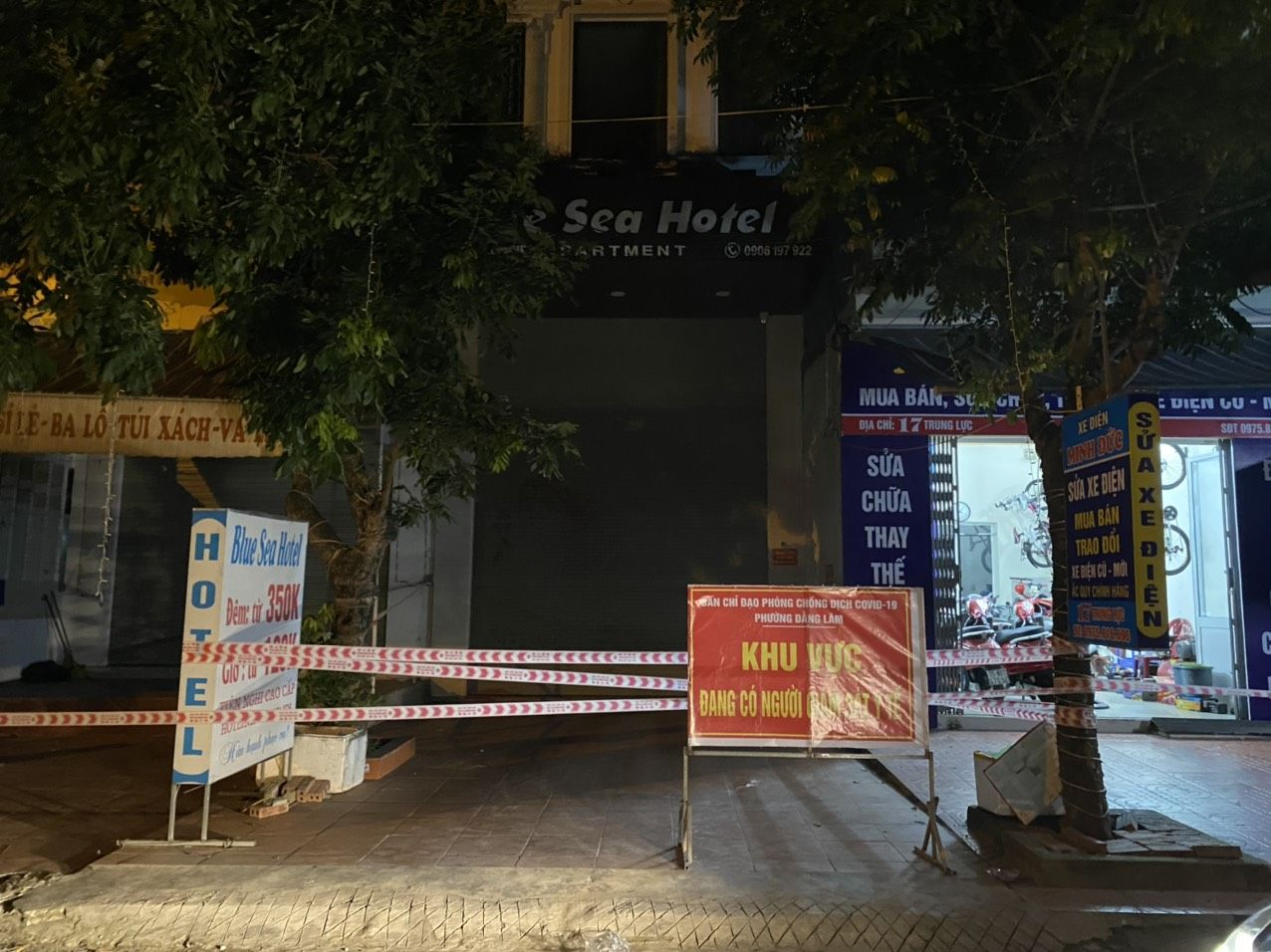 Hải Dương: Phong toả khách sạn Sun, nơi nam thanh niên chưa rõ nguồn lây lưu trú - Ảnh 3.