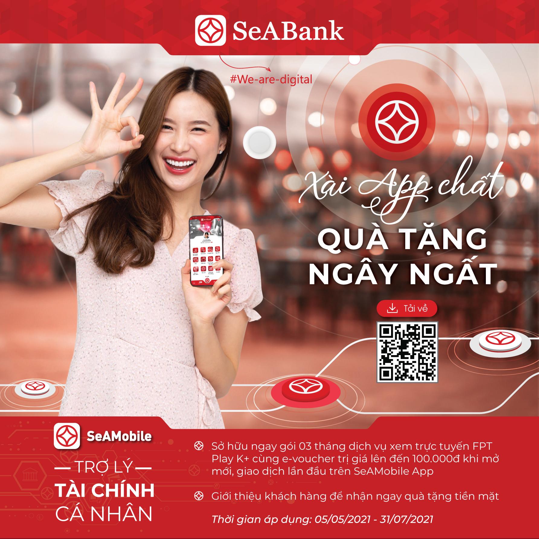 SeABank dành tặng hơn 2 tỷ đồng cho khách hàng mở mới ngân hàng số SeANet/SeAMobile - Ảnh 1.