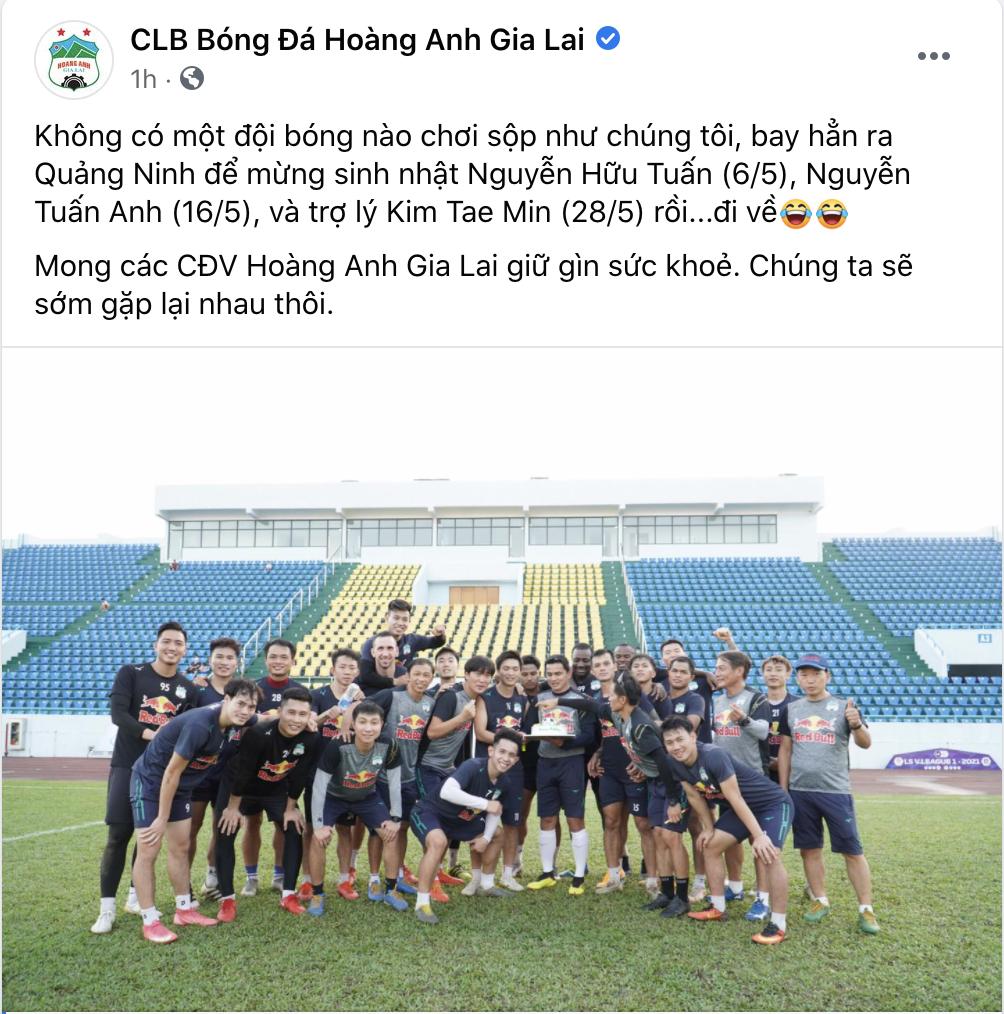 Chơi sộp như HAGL: Bay ra Quảng Ninh để... tổ chức sinh nhật - Ảnh 2.