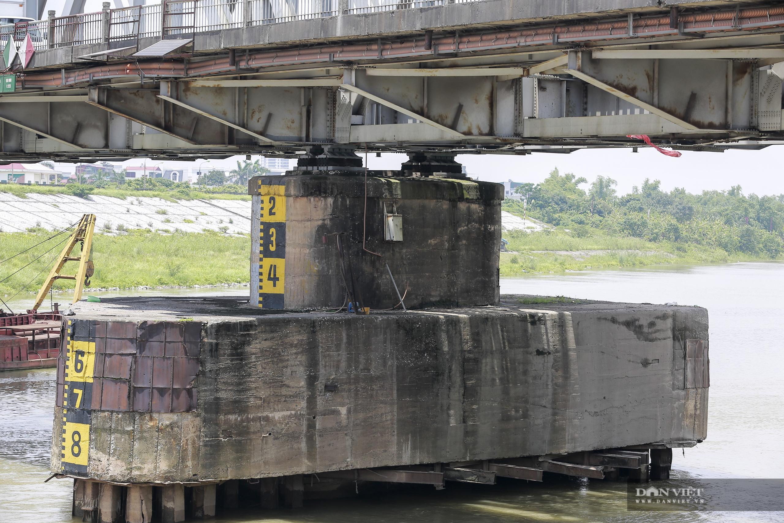 Cầu Đuống sửa chữa, tàu thuyền được phép di chuyển vào giờ nào? - Ảnh 3.