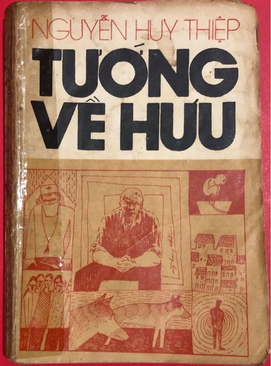 """Đấu giá bản in đầu tiên cuốn """"Tướng về hưu"""" nhân 49 ngày mất của nhà văn Nguyễn Huy Thiệp - Ảnh 1."""