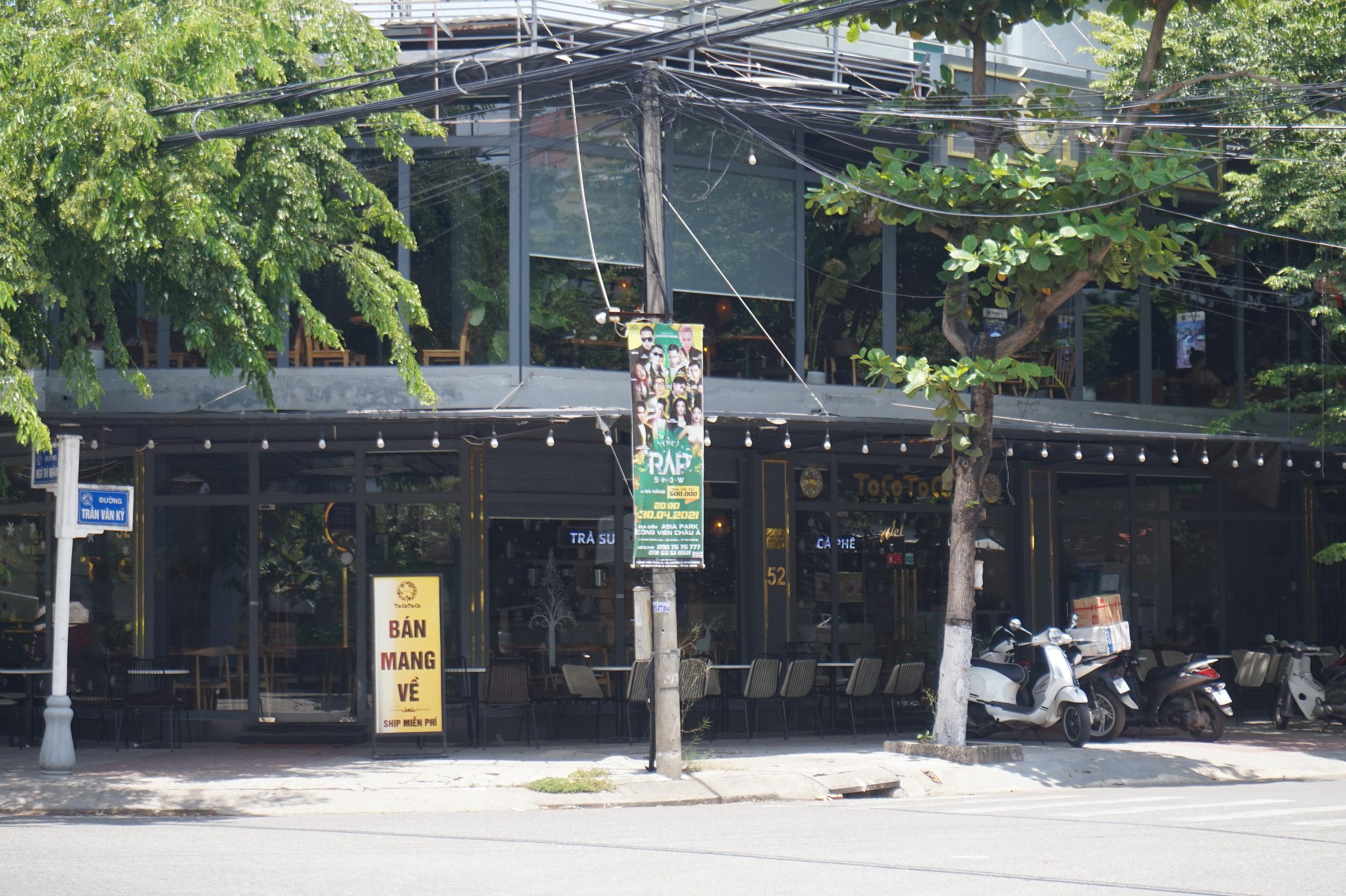 Đà Nẵng: Hàng quán nghiêm chỉnh treo bảng bán mang về, thậm chí đóng cửa để phòng chống dịch Covid-19 - Ảnh 8.