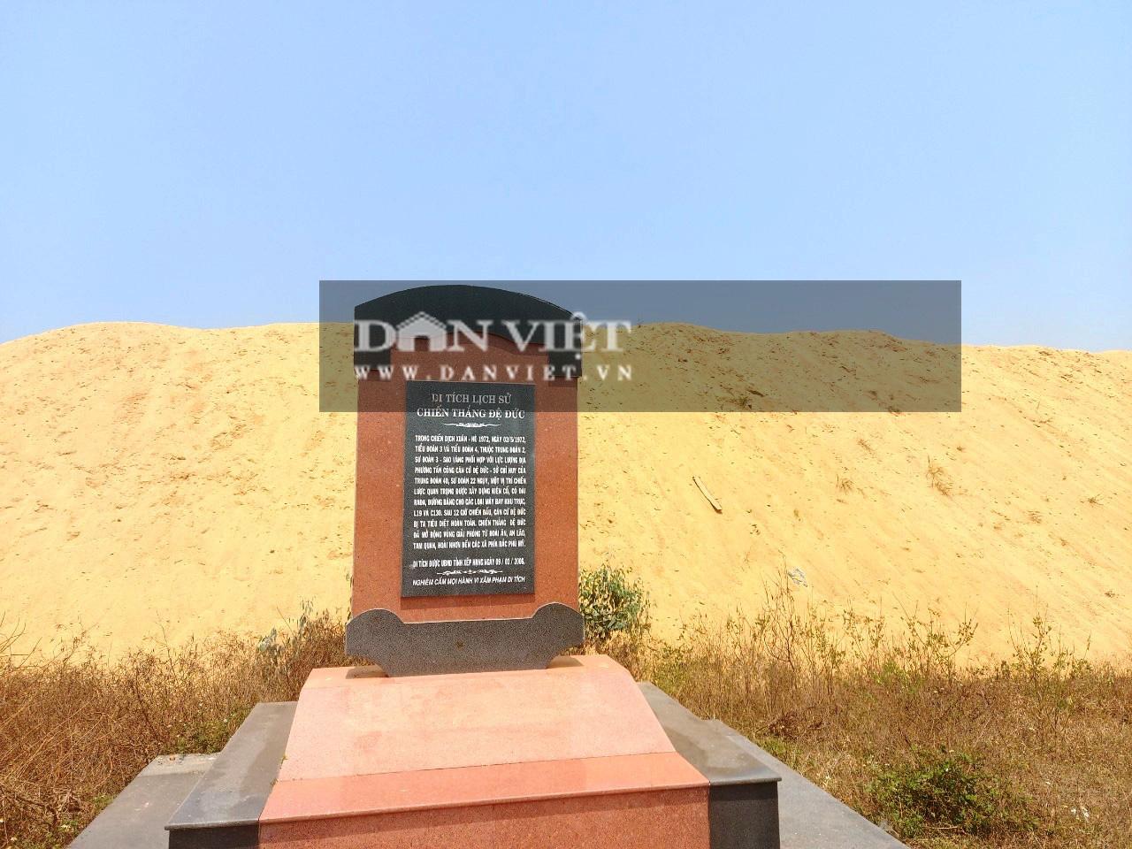 """Chủ tịch tỉnh Bình Định yêu cầu giải quyết dứt điểm vụ bãi cát """"khủng"""" mọc trên đất quốc phòng - Ảnh 1."""