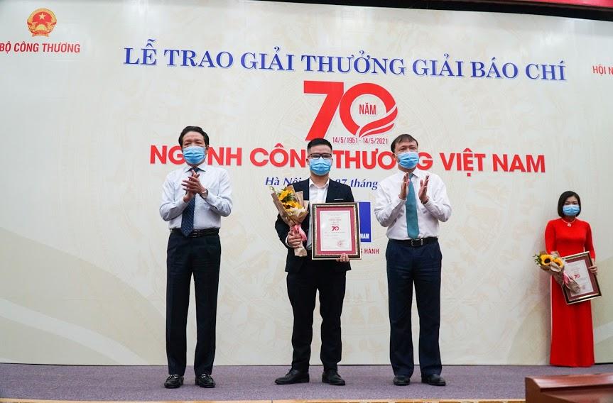 Báo Dân Việt đạt giải báo chí 70 năm ngành Công Thương - Ảnh 1.