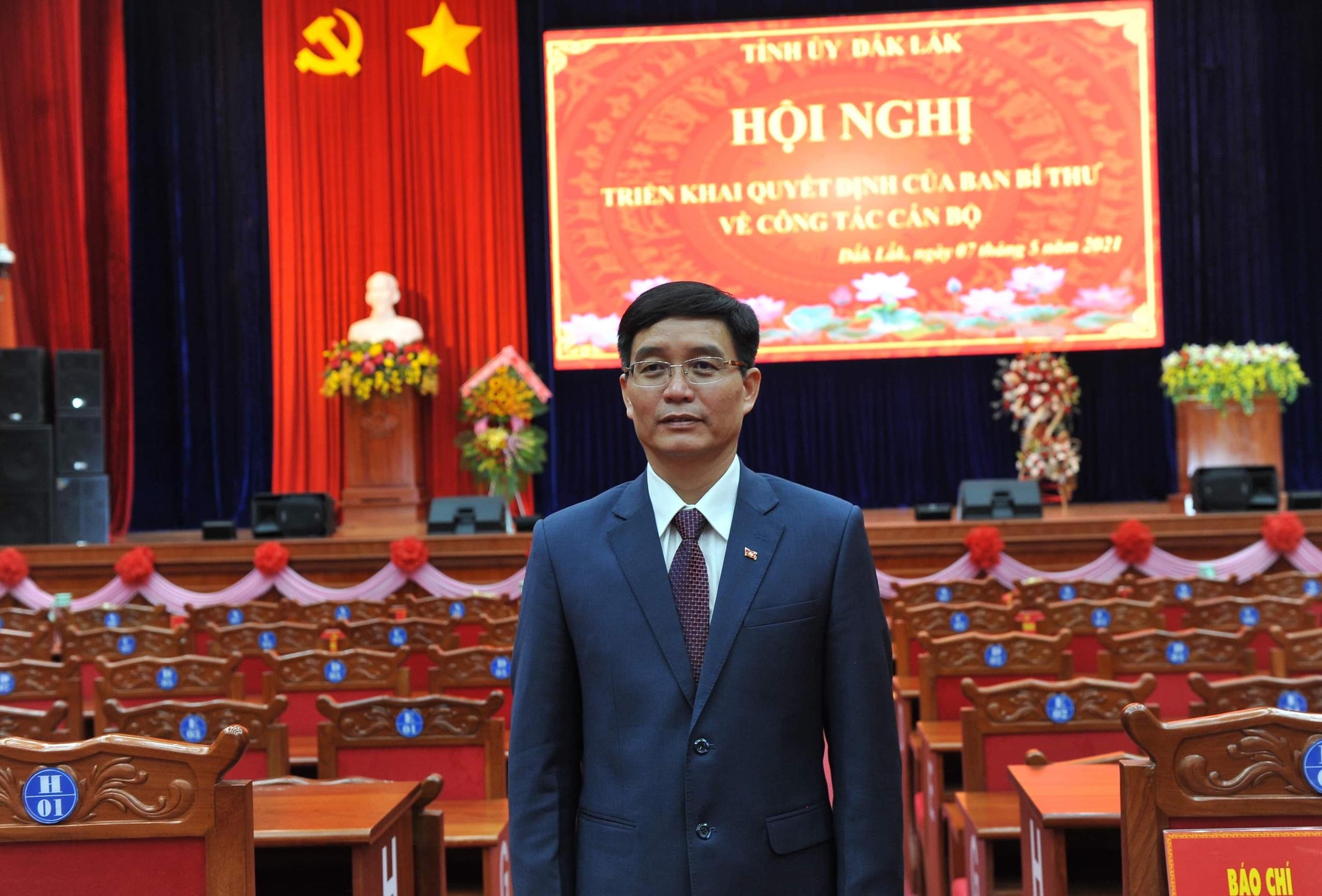 Chân dung tân Bí thư Tỉnh ủy Đắk Lắk Nguyễn Đình Trung - Ảnh 1.