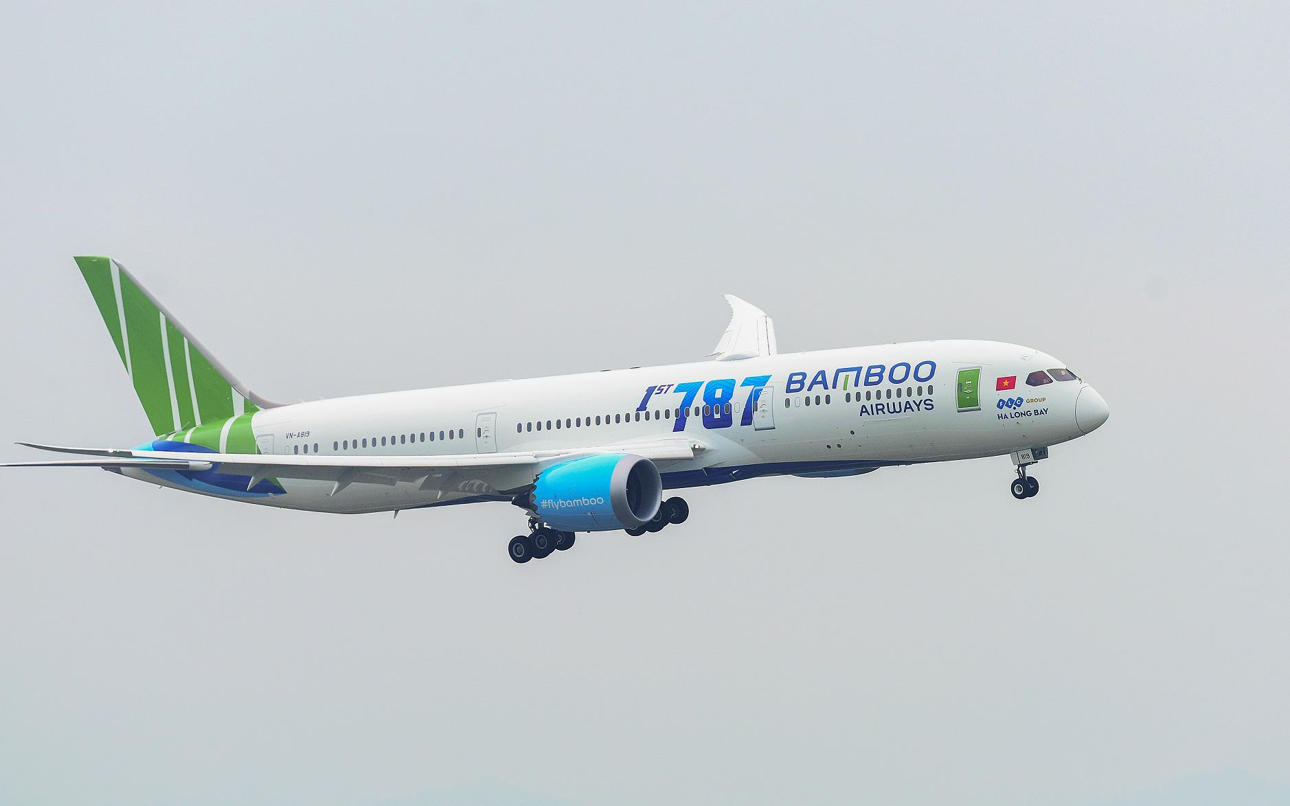 Bamboo Airways được cấp slot bay thẳng thường lệ tới hai sân bay tại bang California, Mỹ