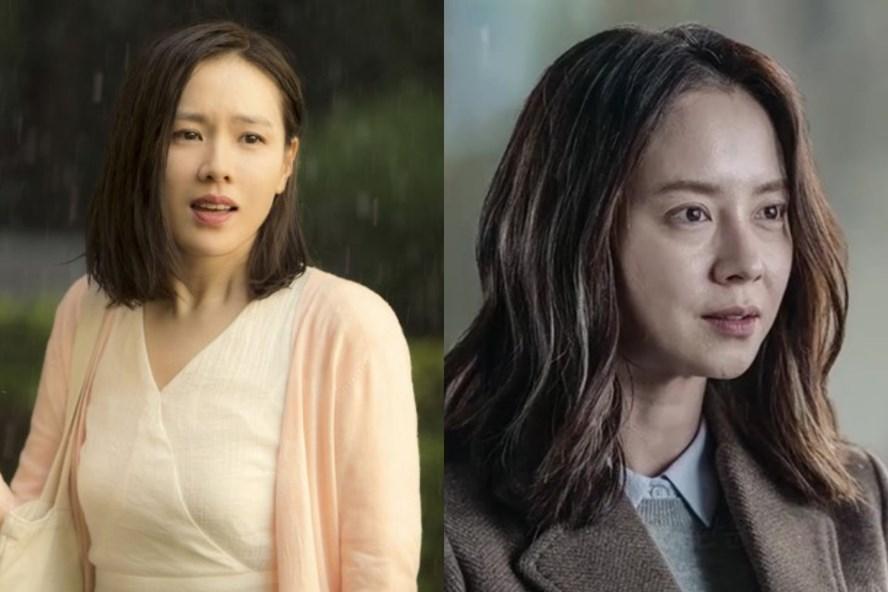 Son Ye Jin, Song Ji Hyo hậu ồn ào cảnh nóng: Người hạnh phúc, người cô đơn - Ảnh 1.