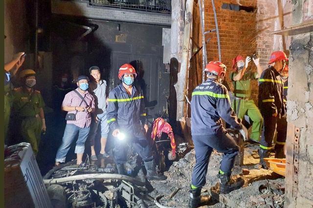 Cô giáo tử vong trong vụ cháy làm 8 người chết là nữ sinh viên dạy kèm - Ảnh 1.