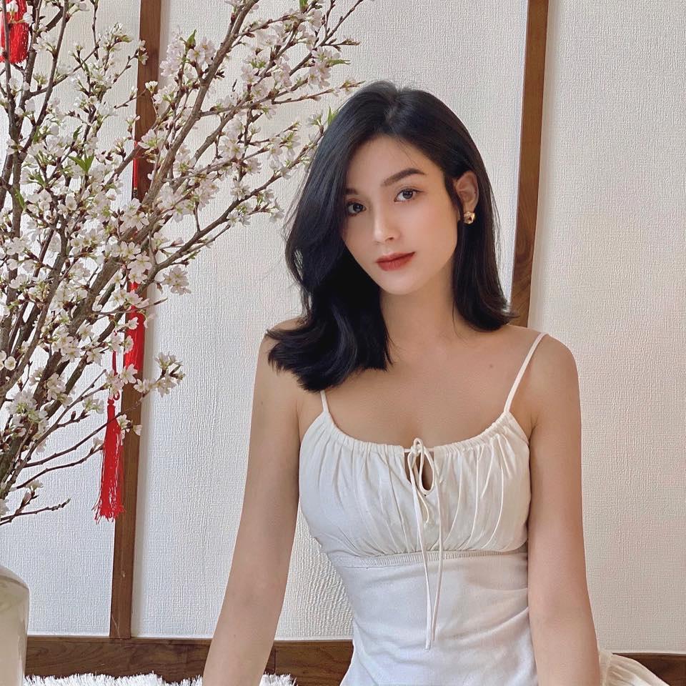 Vẻ đẹp hút hồn của hotgirl Đà Nẵng, giống Hạ Vi và diễn viên xinh đẹp người Thái Lan - Ảnh 5.