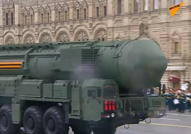 Nga rầm rộ diễu binh mừng Ngày Chiến thắng - Ảnh 5.