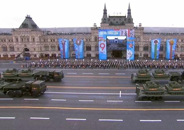 Nga rầm rộ diễu binh mừng Ngày Chiến thắng - Ảnh 6.