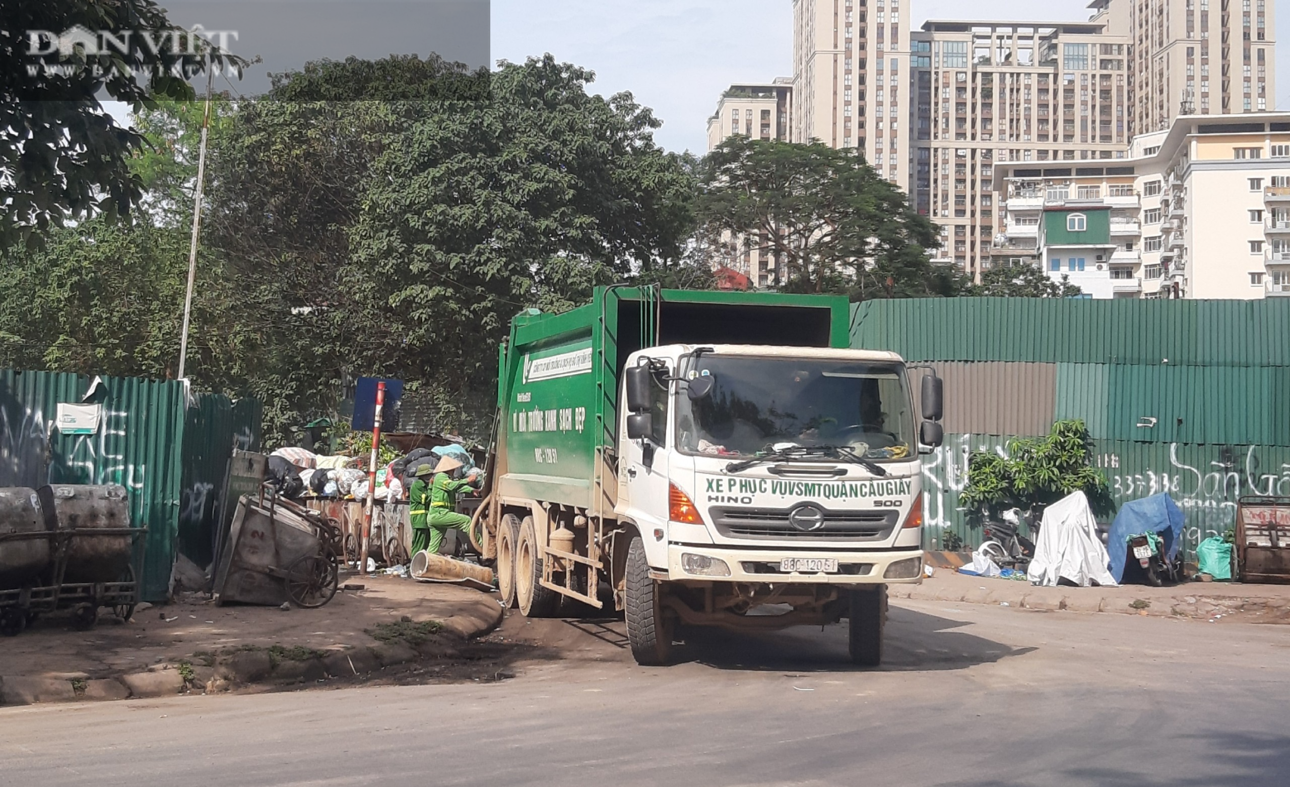 Bài 2: Tràn lan hình ảnh gây ô nhiễm của các công ty bảo vệ môi trường giữa thủ đô - Ảnh 6.